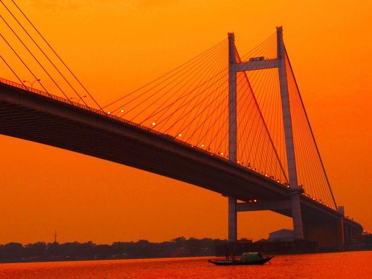 """2ndhooghlybridgeatKolkata"" by IndrarupSaha! Find more inspiring images at ViewBug - the world's most rewarding photo community. http://www.viewbug.com/photo/58273075"
