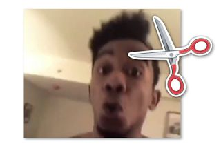 "Desiigner New Hairstyle - Haircut Memes  Desiigner's new hairstyle broke the Internet. Scroll down to see how Twitter reacted to his haircut. Hilarious memes were shared reminding us of Diddy and Yung Joc's unforgettable 2016 hairstyles. The rapper posted an Instagram video showing off some new music but his fans were distracted by his halfro.  The ""Panda"" rapper is known for his unique style but his new hairstyle is too much. The rapper recently signed with Kanye West's GOOD Music imprint…"