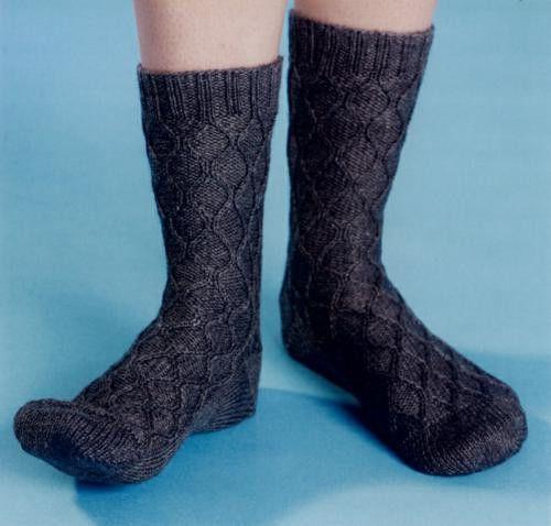 Knitting Socks : Maggies Crochet ? Loom Knitting Socks #knit #pattern #loom #socks # ...