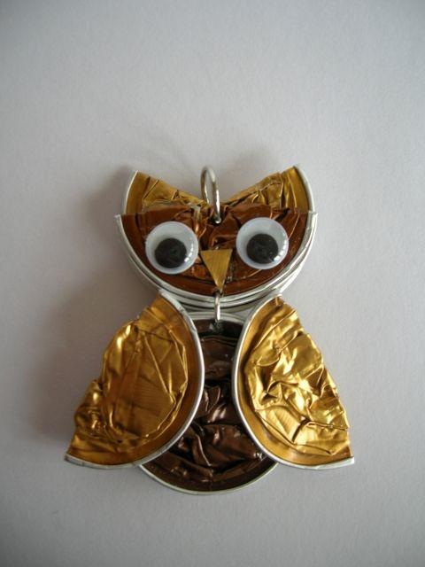 Les 114 meilleures images propos de recyclage sur pinterest art cuill re en plastique - Decoration avec capsule nespresso ...