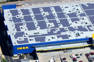 IKEA commits €600m to wind and solar, €400m to climate action. Swedish furniture giant IKEA has announced it will dedicate €600 million to investment in renewable energy, as part of a €1 billion climate change funding plan.