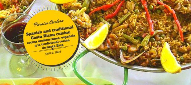 International Mediterranean, Spanish and traditional Costa Rican cuisine | Hotel Paraiso Carlisa Costa Rica