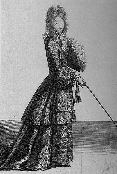 habit de chasse 1690 17th century art pinterest riding habit feminine and 17th century. Black Bedroom Furniture Sets. Home Design Ideas