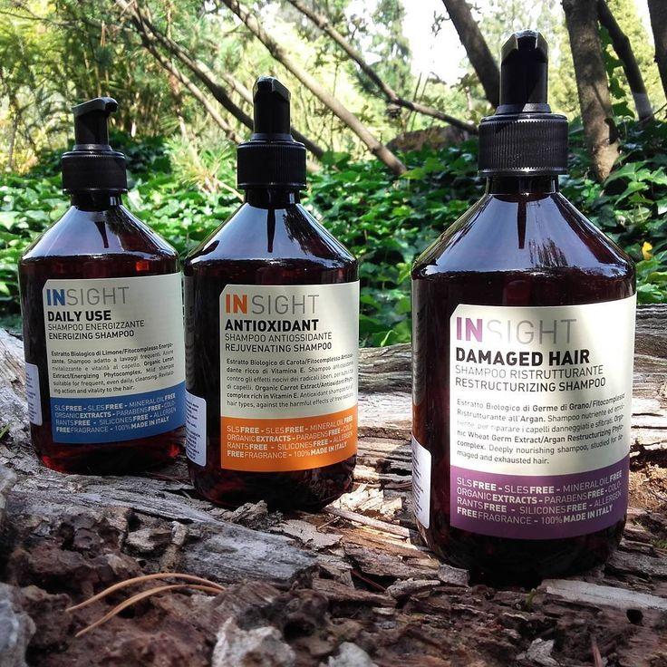 Naturalnie - pielęgnacja włosów www.magcosmet.pl/producenci/insight/