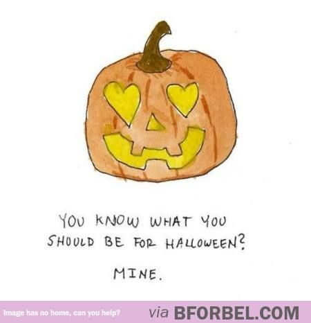 Halloween Pick Up Line…