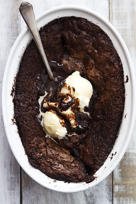 Self-Saucing Brownie