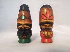 "Artesanías japonesa ""Kokeshi"" ainu Folk Disfraz par de muñeca de madera kokeshi Mini"