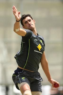 Mitchell Starc ( Source: Chris Hyde/Getty Images ) Hi, like all young cricketers we want to emulate our heroes and the best way to learn is by copying them. We certainly don't learn how to bat, bowl and