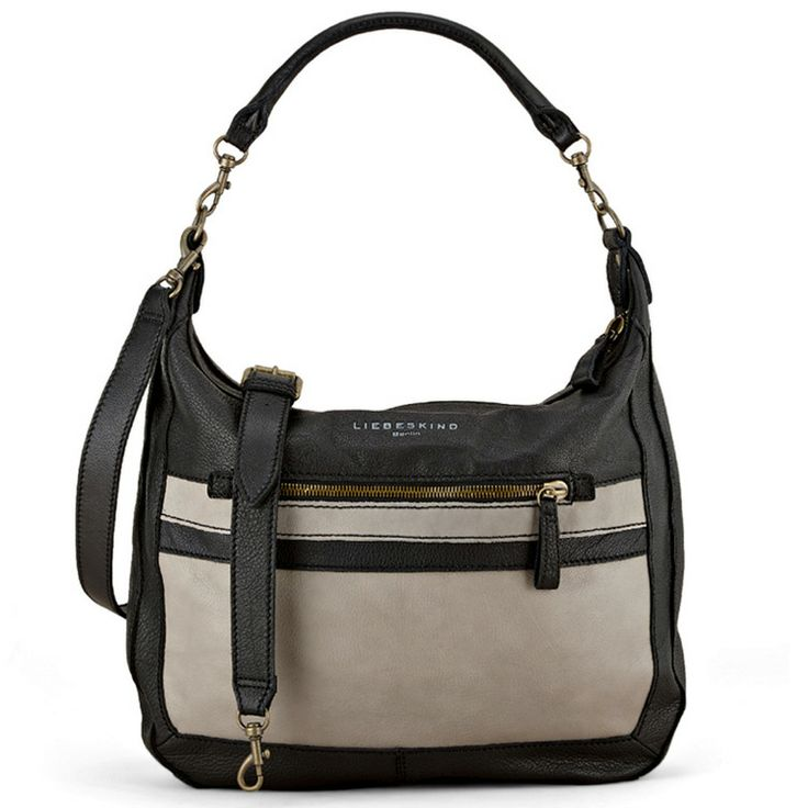 Dinah Mix Black Vintage Plus -- Featuring soft and smooth leather, Dinah is a cool bag that can be worn comfortably on the shoulder thanks to its relaxed hobo shape. A great match with flirty, feminine dresses and even minimalist outfits like a classic silk blouse paired with skinny pants, it will be hard to pick between the solid or color block option. W x H x D (in): 17 ¼ x 17 x 2 ¾