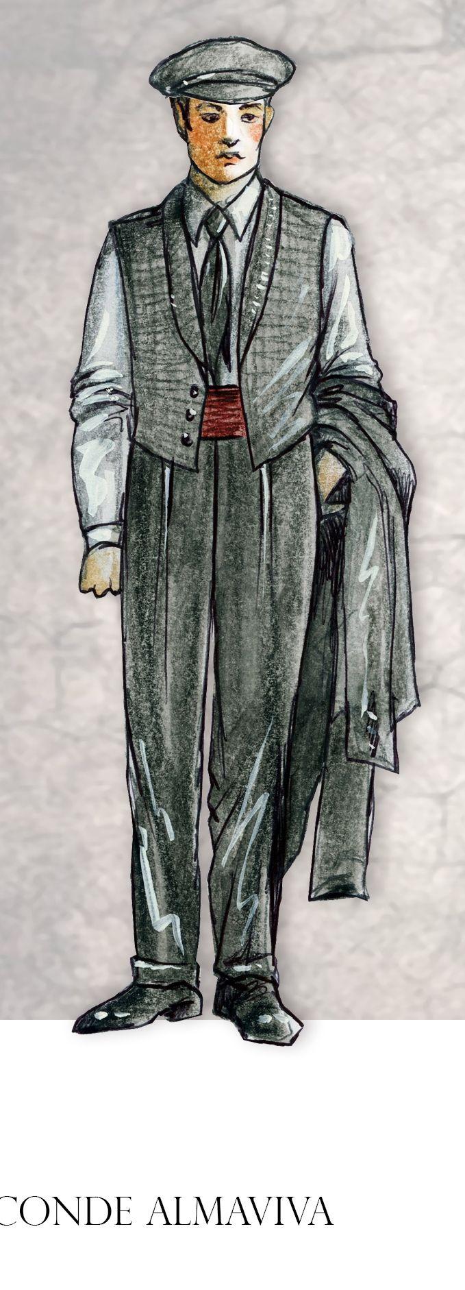 Personaje, Conde Almaviva de El Barbero de Sevilla
