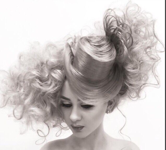 Doll hairstyle