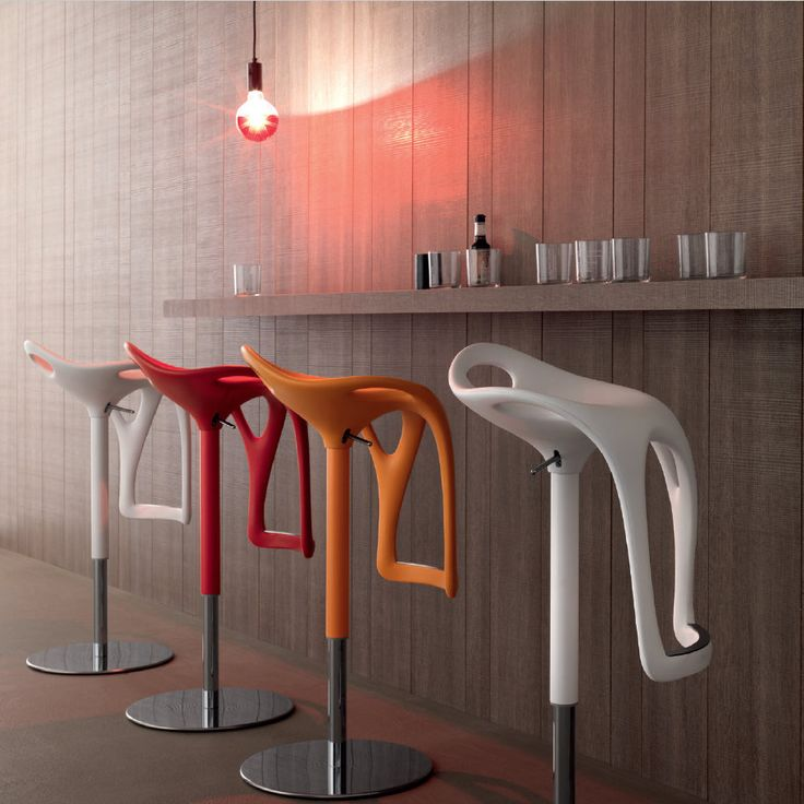 Form Stool This stool is not only ultramodern, is also very original! An unique piece to make your kitchen, bar or office stands out. It immediately gives an exclusiveness touch to your place. It's also very comfy.