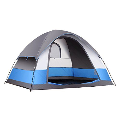 Favorite C&ing Gear | SEMOO Water Resistant 5 Person 3Season Lightweight Family Dome Tent for C&ing  sc 1 st  Pinterest & 850 best Tents images on Pinterest | Camping gear Survival and Tent