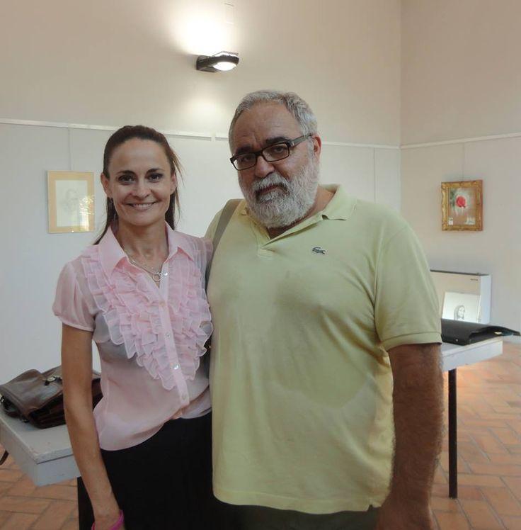 Con Daniele Maiani, maestro di Judo.