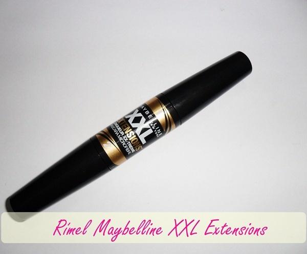 Rímel/máscara Maybelline XXL Extension