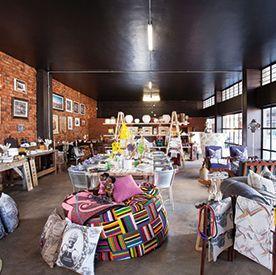 Maboneng Precinct :: 1886 Boutique, The Main Change 20 Kruger street, Johannesburg.