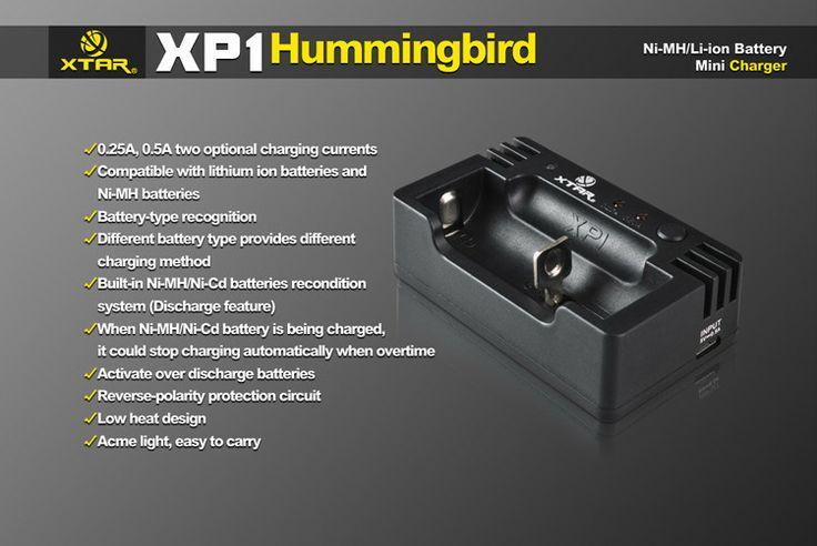 The smallest compatible intelligent charger XP1 Parameter ● Lithium batteries charging parameter: Input 5.0V DC/0.5A 0.25A CC current 250±30mA 0.5A  CC current 500±50mA Cut-off Voltage  4.2±0.05 V 0.25A/0.5A cut-off current/TC current ≦60mA Operation Temperature 0-40 ℃  #hidcanada