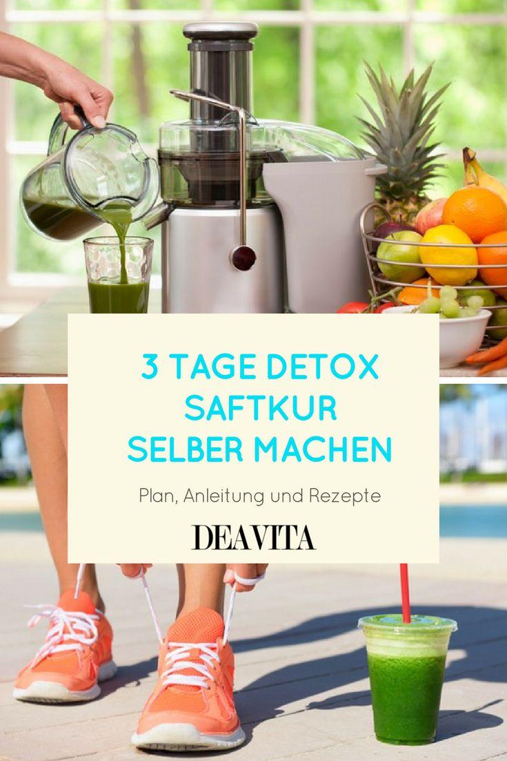 Brauchen Sie einen Neustart Ihres Immunsystems? Durch eine Detox Saftkur können Sie Ihren Stoffwechsel regulieren und Ihren Körper von den angesammelten Giftstoffen reinigen. Nach den 3 Detox-Tagen werden Sie sich frischer und voller Energie fühlen! Lassen Sie sich dabei von unseren Saft- und Smoothie-Rezepten inspirieren oder experimentieren Sie einfach selbst mit den verschiedenen Zutaten herum.