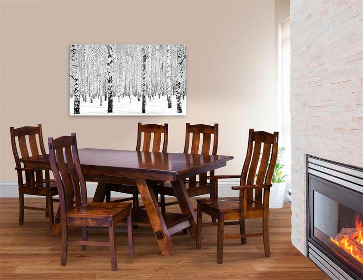 Amish Timber Ridge Dining Chair