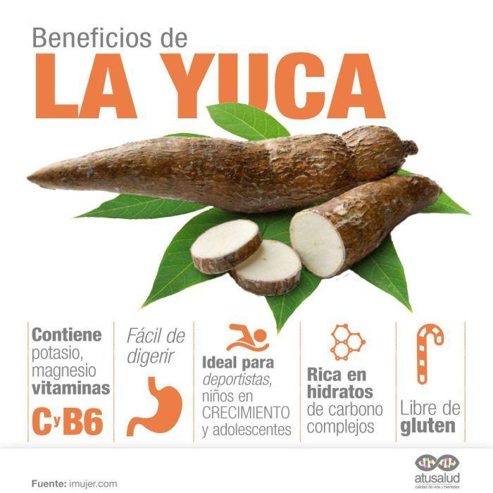 Beneficios de la yuca a tu salud
