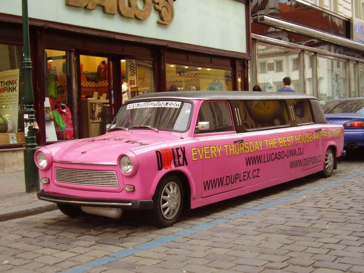 Pink Trabant Limosine