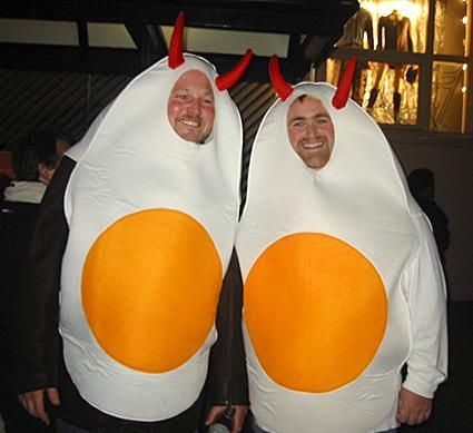 deviled egg costume by minnaert plus 30 other clever costume ideas - Clever Original Halloween Costumes