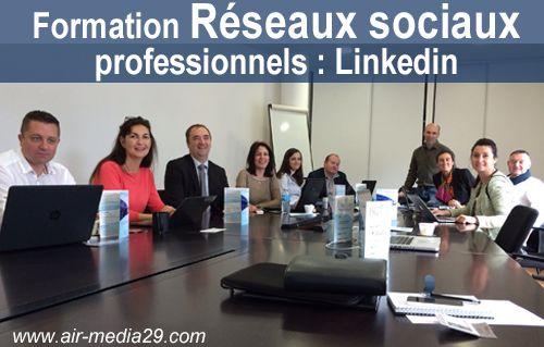 Formation sur les réseaux sociaux professionnels chez #Bluecom avec les membres de #BNI à #Brest http://www.air-media29.com/actualites-internet/98-formation-reseaux-sociaux-brest.html