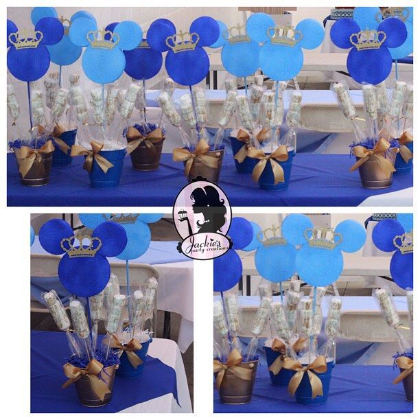 Mickey Prince Centerpieces…
