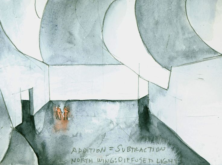 Sketch by Steven Holl - For New Wing Of Mumbai City Museum