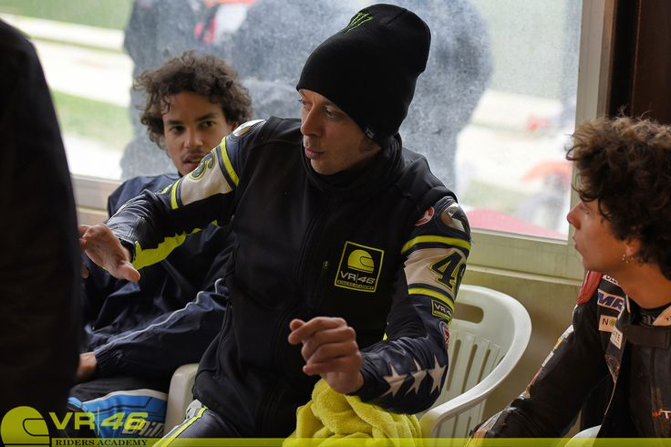 #birmingham At School with Valentino Rossi When The Doctor is your teacher, you have the tools to succeed.  Valentino Rossi teaching young riders Valentino Rossi at the Ranch commenting on track actions with Marco Bezzecchi and Franco Morbidelli. http://www.cycleworld.com/2016/03/03/inside-valentino-rossi-vr46-riders-academy-motorcycle-racing-school-cycle-world-feature/