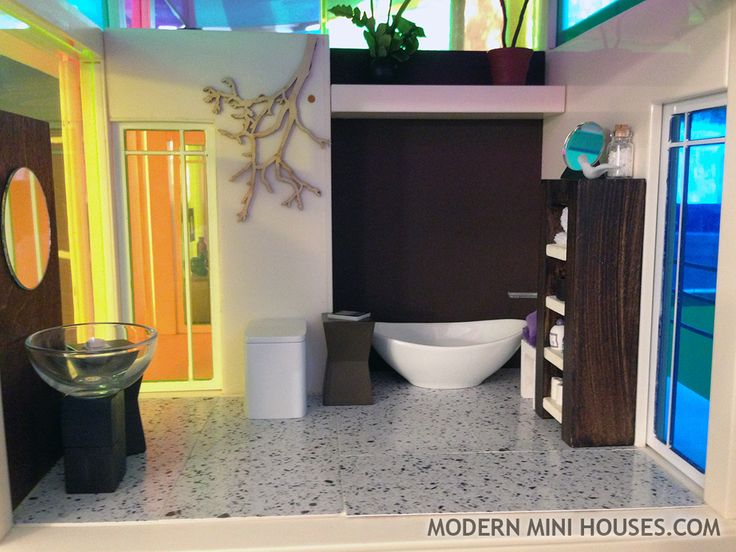dolls house modern bathroom » 4K Pictures | 4K Pictures [Full HQ ...