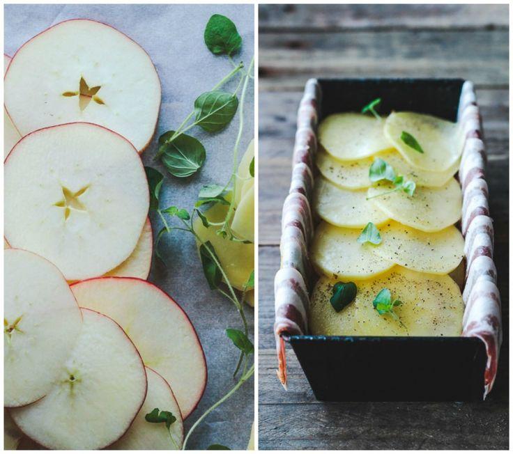 pommes anna med bacon, æble og kartofler (1)
