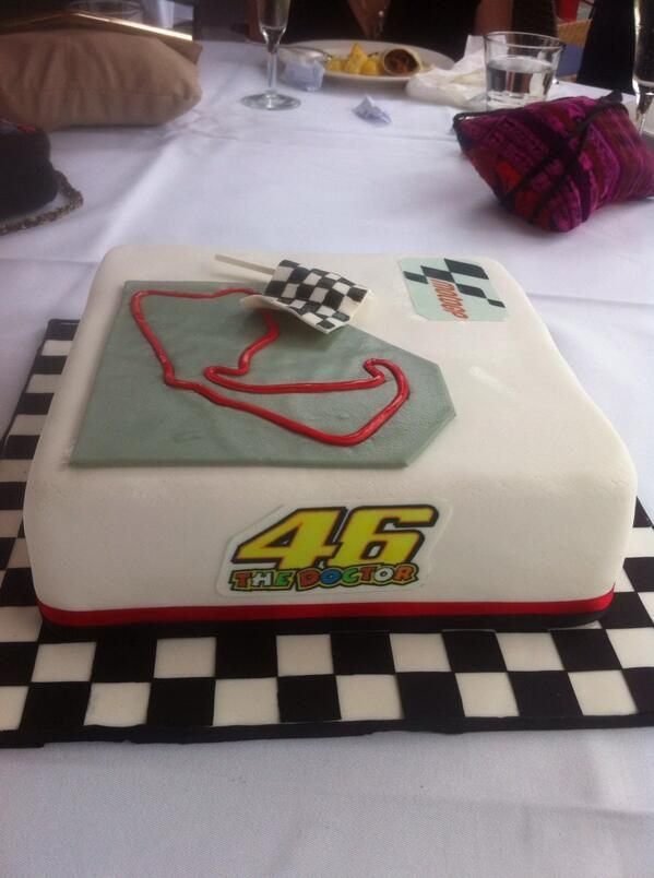 Birthday cake - circuit - #46 - #motogp