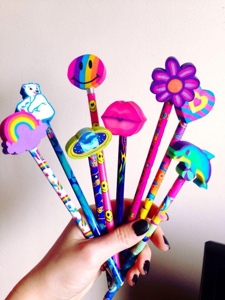 Lisa Frank pencils