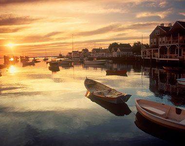 Nantucket. Thanks to author Elin Hilderbrand, this is near the top of my list! Seems so magical.: Nantucket Living, Favorite Places, Dawn, Travel, Massachusetts, Cape Cod, Nantucket Harbor