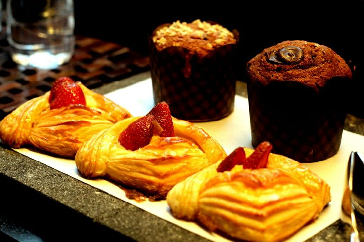 Freshly baked pastries - perfect meal to start off your day!