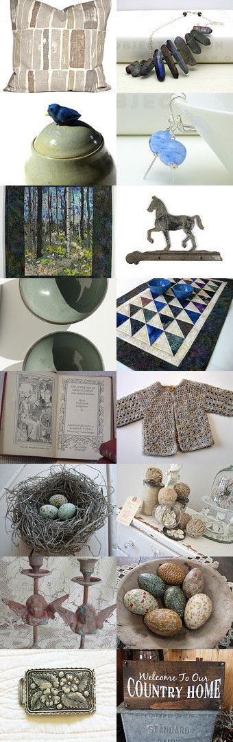 Gray and cool like a stone  by Margarita R. Martí on Etsy--Pinned with TreasuryPin.com