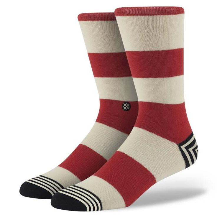 Stance | Waldo White, Red socks | Buy at the Official website Main Website.