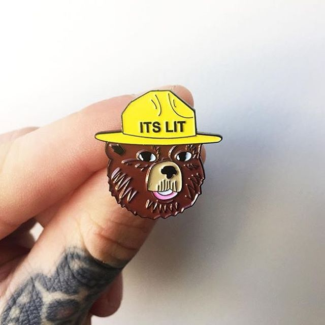 deadringersftw | this school year in 2019 | Jacket pins, Pin badges