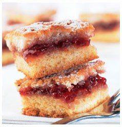 Jam squares - Foto Hullets Sugar