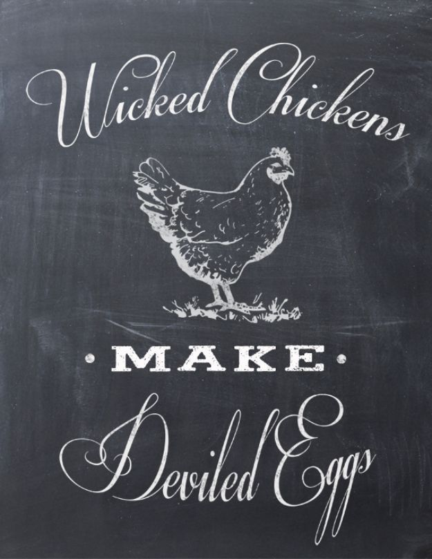 Free Printables For Your Walls - Wicked Chickens Free Printable - Best Free Prints for Wall Art and Picture to Print for Home and Bedroom Decor - Ideas for the Home, Organization - Quotes for Bedroom and Kitchens, Vintage Bathroom Pictures - Downloadable Printable for Kids - DIY and Crafts by DIY JOY http://diyjoy.com/free-printables-walls