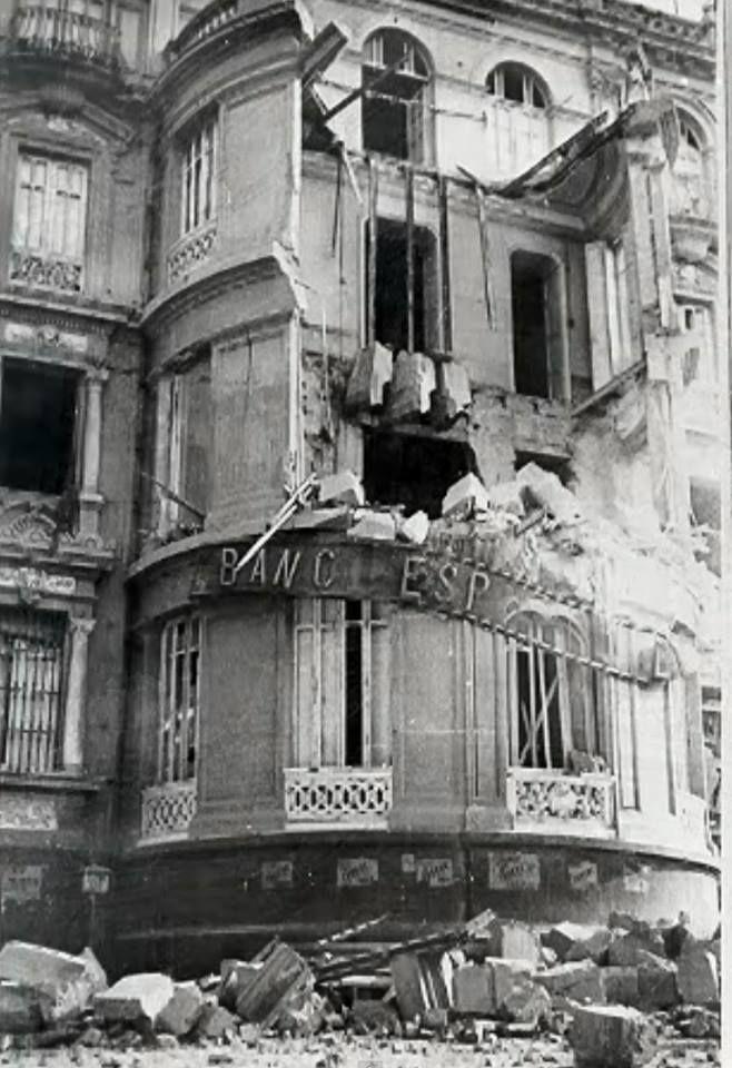 Guerra civil, 1937, edificio Banesto (Almería)