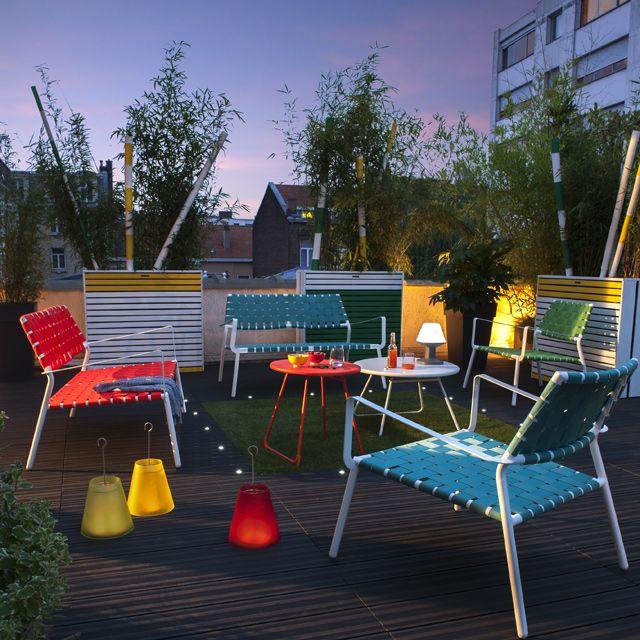 Dalle de terrasse Castorama , achat dalle pas cher, promo Dalle de terrasse en composite anthracite 90 x 90cm, ép.50mm prix promo Castorama 54.90 €/m2