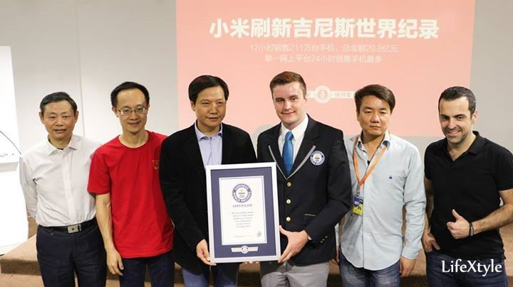 Xiaomi Sets a Guinness World Record by making 2.11M in 12 Hours