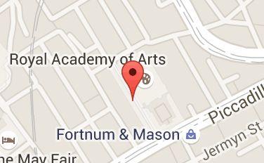Map of burlington arcade
