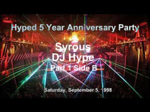 DJ Hype Live - Syrous 5 Year Anniversary 1998 Toronto Ontario Canada Part 2 of 4