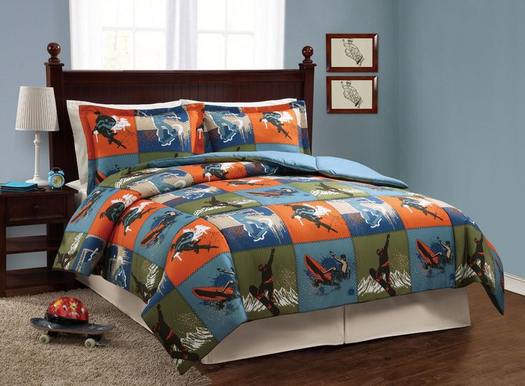 Extreme Sports Twin Bedding