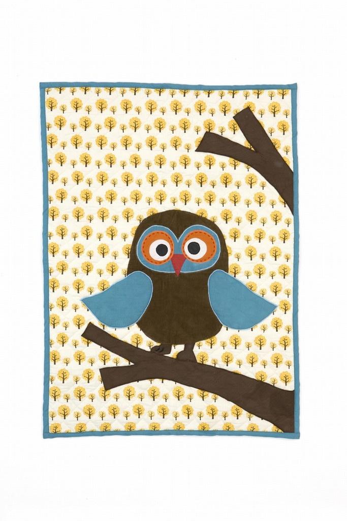 Ferm Living Owl Blanket