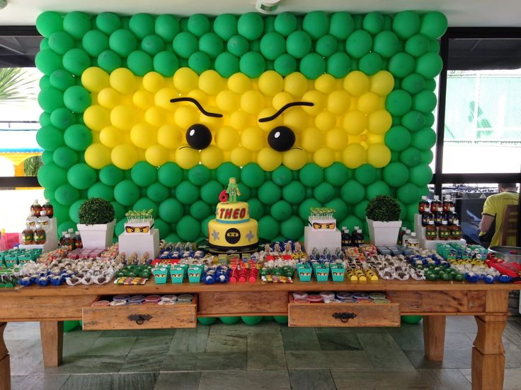 Image Result For Birthday Party Supplies Ninjagoa