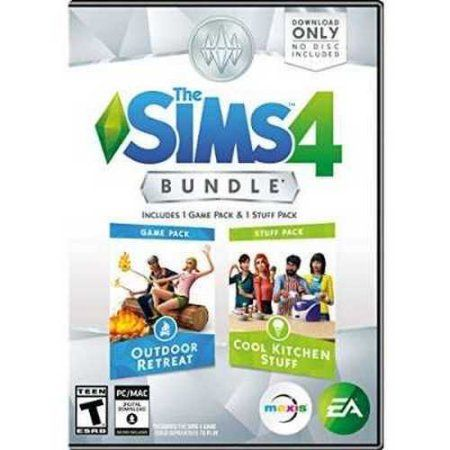 The Sims 4 Bundle Pack: Outdoor Retreat and Cool Kitchen Stuff Pack - PC - Walmart.com